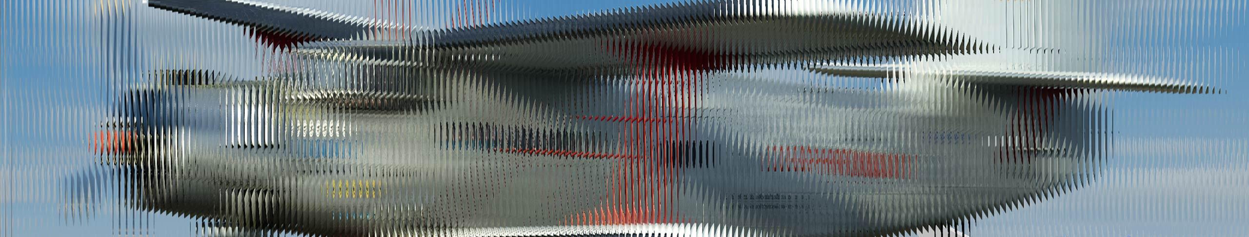 Lentikular-Technik - interlaced image