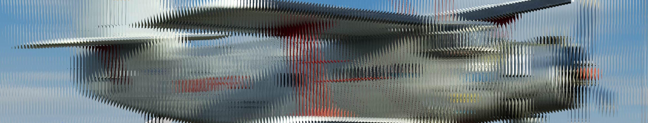 lentikulardruck - interlaced image