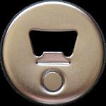 Button Rückseite - Kapselheber + Magnet