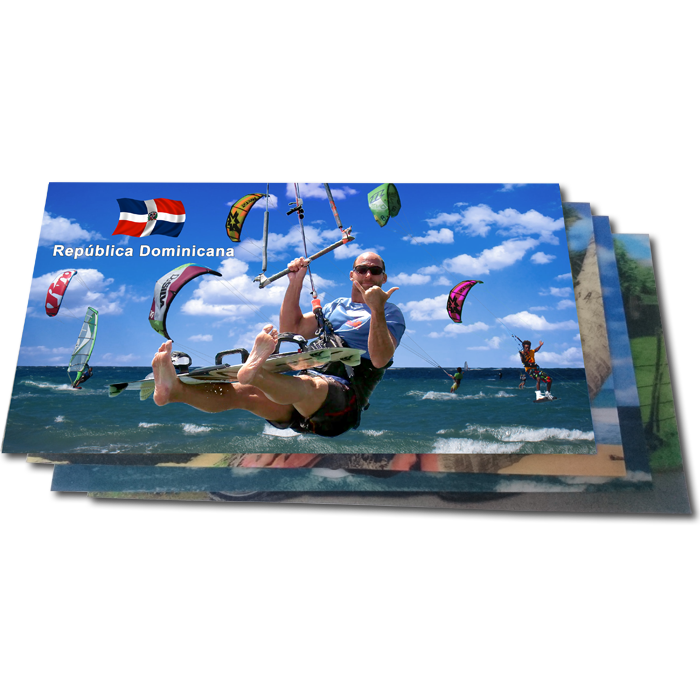 Lentikulardruck Postkarten - Maxiformat