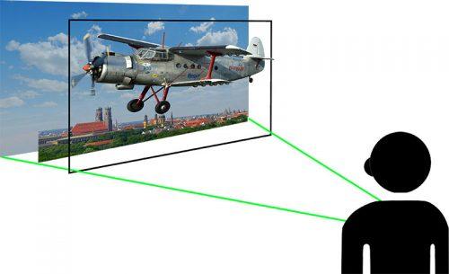 Lentikularbild 3D